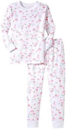 8be3fa51e Amazon.com  Kissy Kissy Baby Girls  Flamingo Island Pajama  Clothing