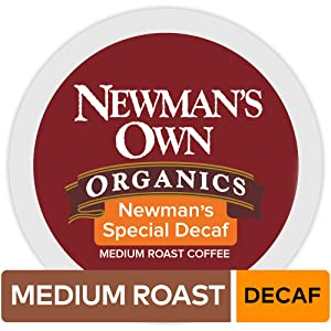 Newmans Own Organics Special Blend Decaf Keurig Single-Serve K-Cup Pods, Medium Roast Coffee, 72 Count