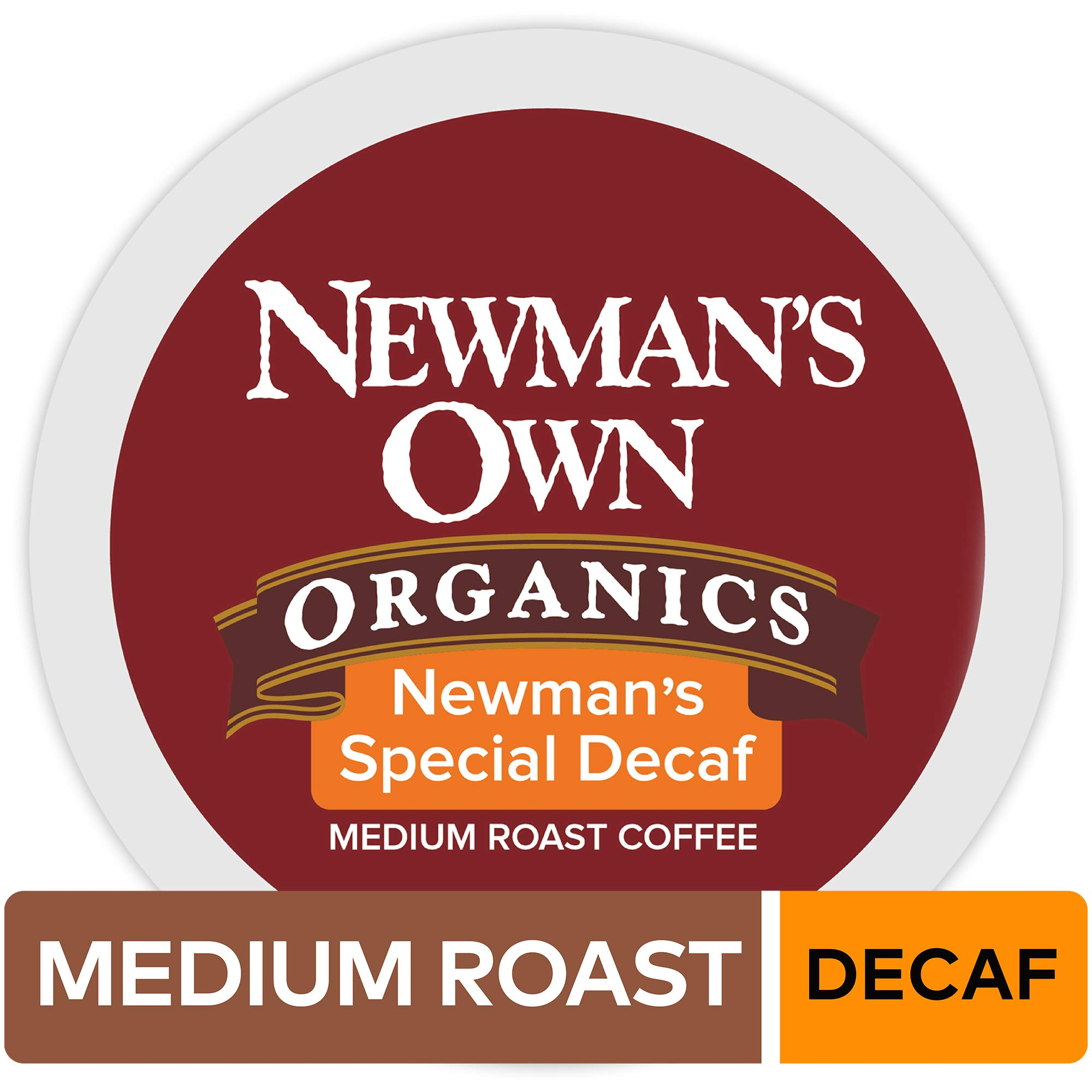 Newman's Own Organics Special Decaf Keurig K Cup Pods, Decaffeinated, 96 Count