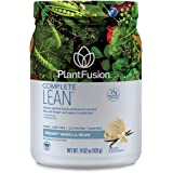 PlantFusion Complete Lean Plant Based | Weight Loss Protein Powder | Supports Blood Sugar & Controls Appetite | Superfoods wi
