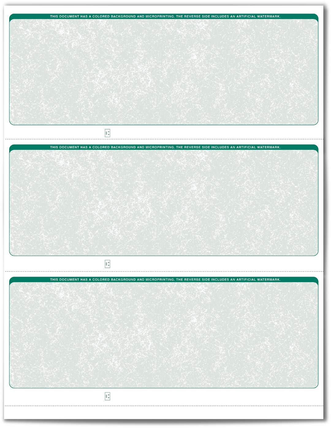 Burgundy VersaCheck Security Business Check Refills: Form #3000 Business Standard Classic 250 Sheets