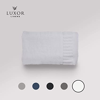 Luxor Linens – grande toalla de baño juego de colección – Solano. 100% toallas