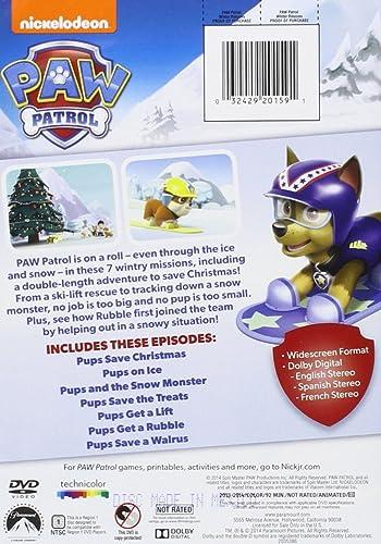 Amazon Com Paw Patrol Winter Rescues Munroe Gage Thorne Alex Cohen Devan Holley Kallan Distefano Christian Movies Tv