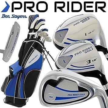 Ben Sayers Pro Rider - Set completo de palos de golf y bolsa ...