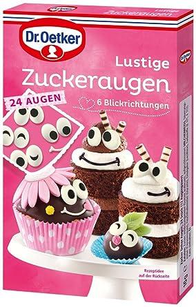 Dr Oetker Zuckeraugen 10 G Amazon De Lebensmittel Getranke