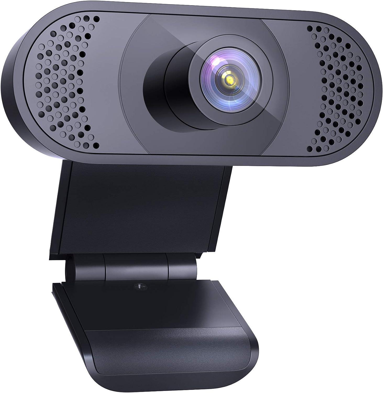 Cámara web HD, cámara web con clip USB