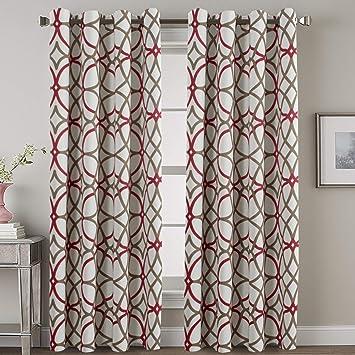 Amazon Com H Versailtex Blackout Curtain Panels 84 For Living