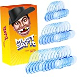 [20 Pack] Dental Tools, Tomight C-Shape Blue Cheek Retractor Mouth Opener for Watch ya Mouth & Speak Out( 10 Large 6 Medium 4 Small)