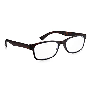 58c1a5a024 Read Optics Computer Glasses 1.5  Mens Womens Blue Light Blocking Reading  Glasses for Protection