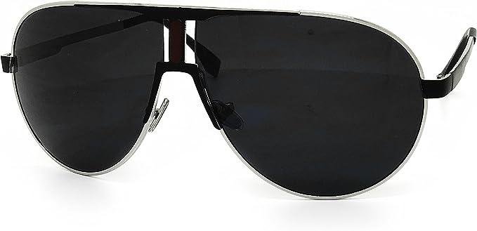 OVERSIZE CLEAR LENS GLASSES BLACK FRAME BIG Retro Design Hipster Shadow Style