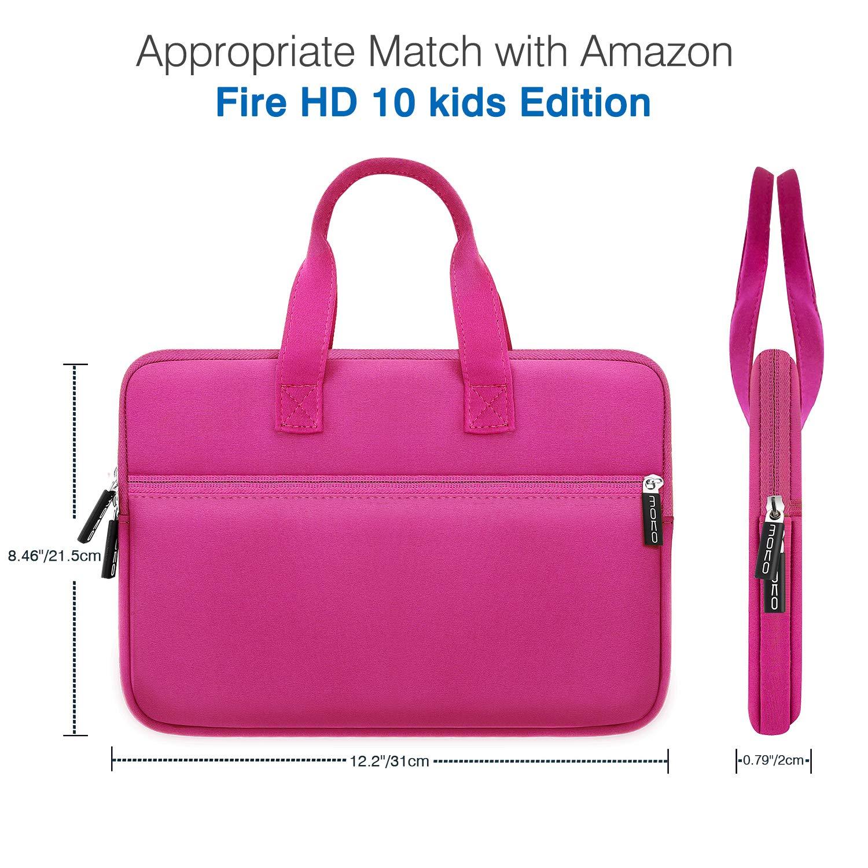 Indigo Fire 7 Kids Edition Kindle Oasis 7 2017 Portable Neoprene Case Bag Fits Fire HD 8 2018 MoKo 7-8 Inch  Tablet Sleeve Bag Kindle E-Reader Fire 7 2017//2019 Fire HD 8 Kids Edition