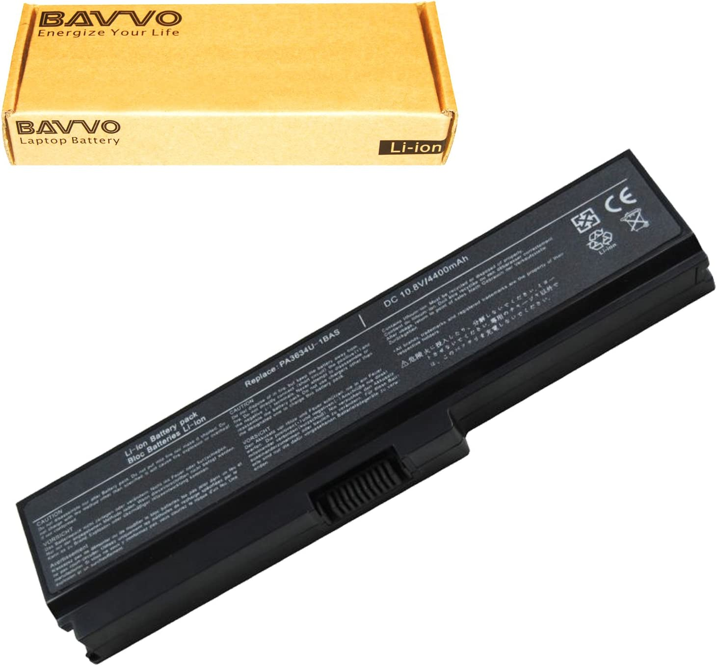 Bavvo Battery Compatible with Toshiba Satellite P775-S7320