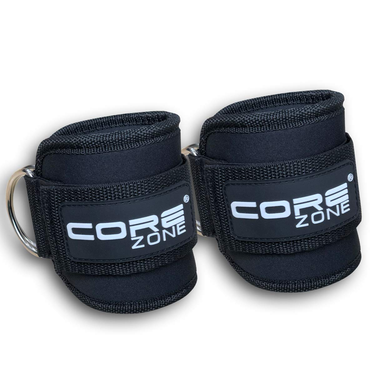 Top Fitness Adjustable D-Ring Ankle Straps|Sturdy Leg//Wrist Extension Straps Weightlifting,Leg /& Butt Lifter Gym Straps for Men /& Women COREZONE Ankle Straps For Cable Machine