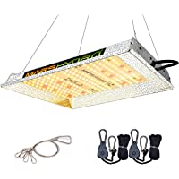 MARS HYDRO TS 600W LED Grow Light Sunlike Full Spectrum Led Grow Lamp Plants Growing Lights for Hydroponic Indoor…