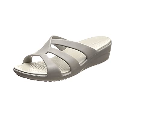3b9764d23136 Crocs Sanrah Strappy Wedge