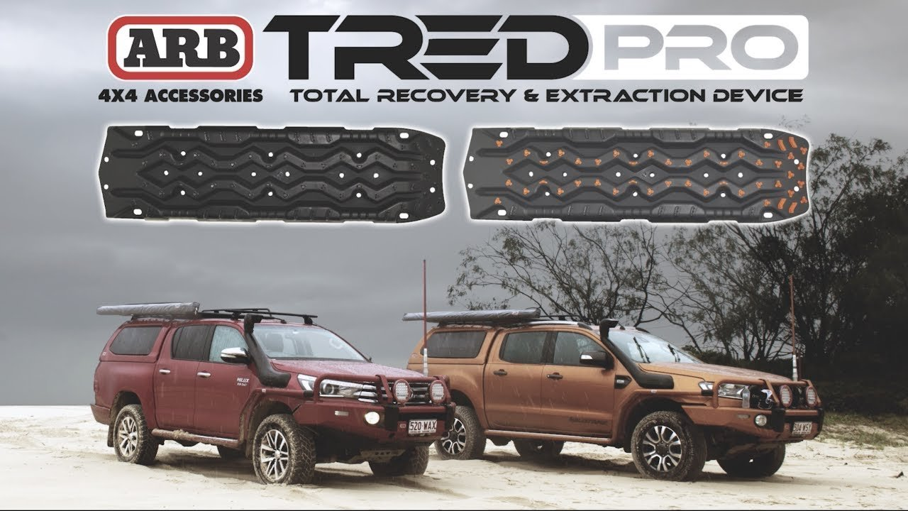 ARB TREDPROMGO Grey//Orange Recovery Boards