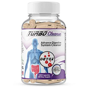 Turbo Cleanse Advance Digestive System Cleanser 100% Natural