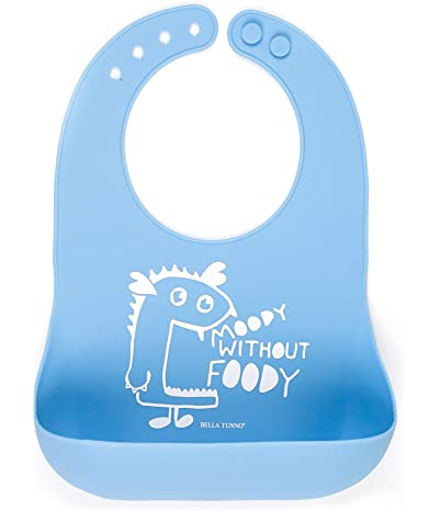 Bella Tunno Moody Without Foody Wonder Bib, Blue