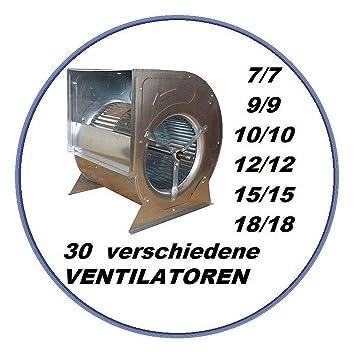Industrie Radialgeblase 10 10 Fur Dunstabzugshaube Luftung Klima