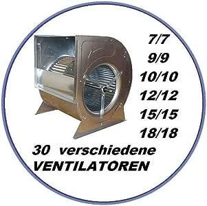 Ventilador radial industrial 9/9 para campana extractora, ventilación, clima, caja de salida, caja de ventilación, caja de cocina, ventilador radial, ventilador radial, ventilador industrial, ventilador de ventilador de ventilación, campana de campana