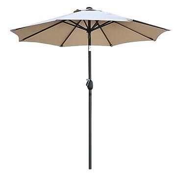 Marvelous SNAIL 7u00272u0026quot; Tilting Small Patio Umbrella Sunshade 1000 Hours  Fade Resistant Outdoor