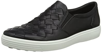 ECCO Men s Soft 7 Woven Slip On Fashion Sneaker 440998af2649