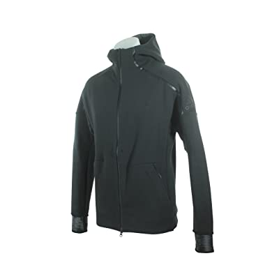 adidas BQ0074 Men ZNE Pulse Full-Zip Hoodie Grey