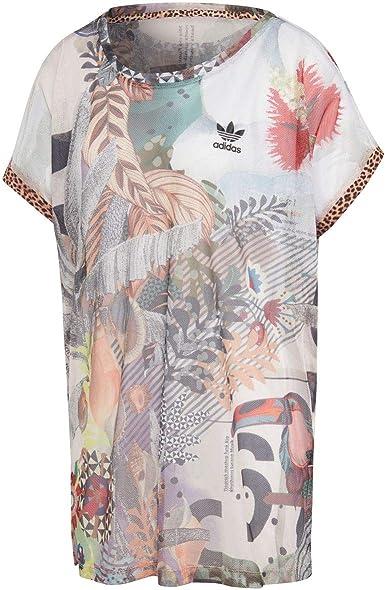 adidas Boxy Camiseta Mujer 38 M (Medium)