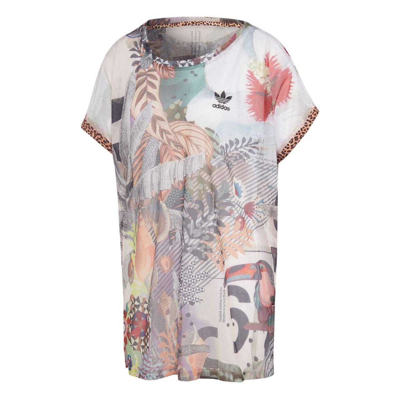 TALLA 38 M (Medium). Adidas T-Shirt Boxy
