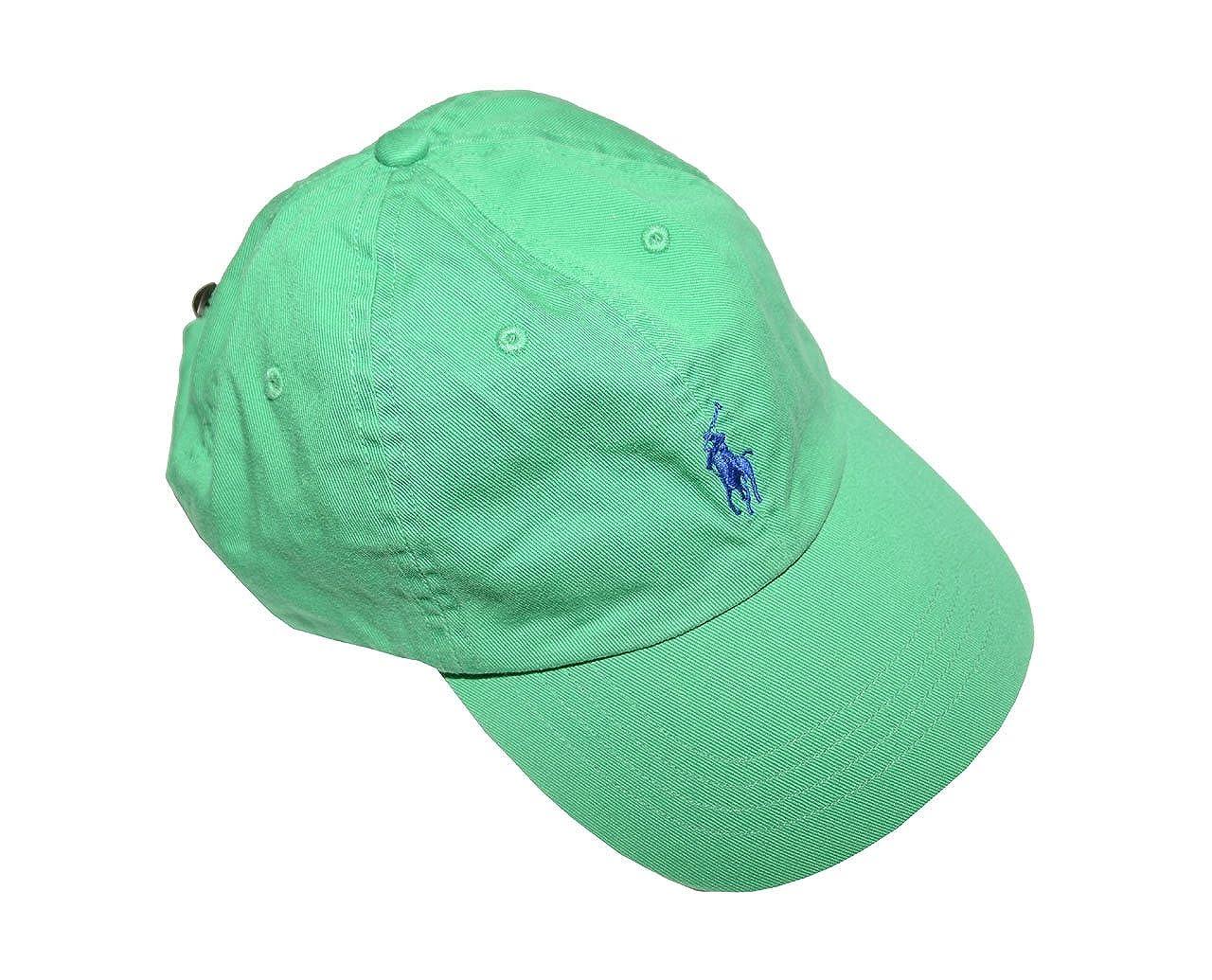 Ralph Lauren Polo Hombres Pony - Logo - Gorra Ajustable Sombrero ...