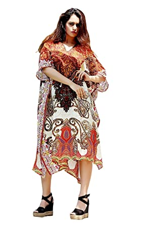 4e557c45f4 Silk Kaftan one Piece Dress Jeweled/Handmade/Caftan Beach Cover up hot Look  Luxuries