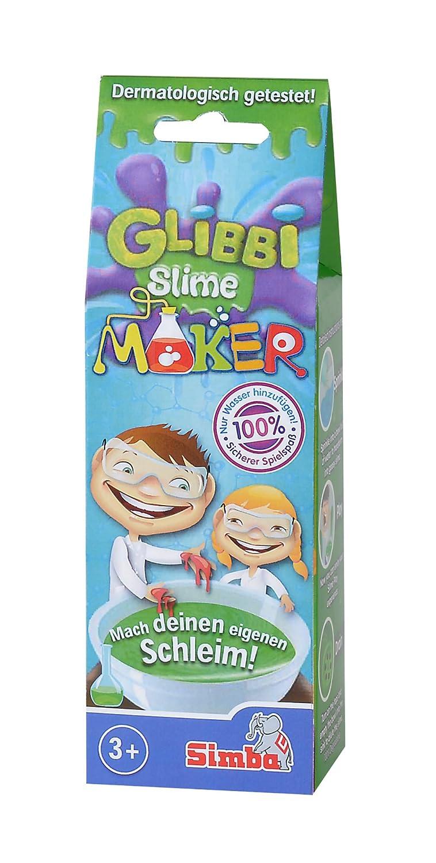 de 3/Surtido glibber Rojo Simba 105953226/glibbi Slime Maker Verde o Azul