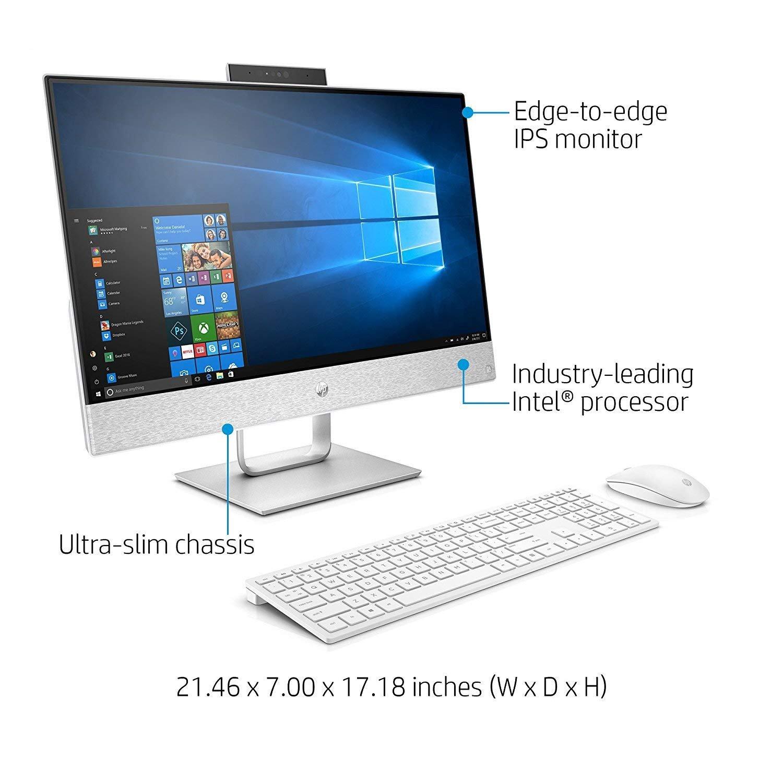 Amazon.com: HP Pavilion 24 Desktop 1TB SSD 32GB RAM Extreme (Intel Core i7-8700K Processor 3.70GHz Turbo to 4.70GHz, 32 GB RAM, 1 TB SSD, 24