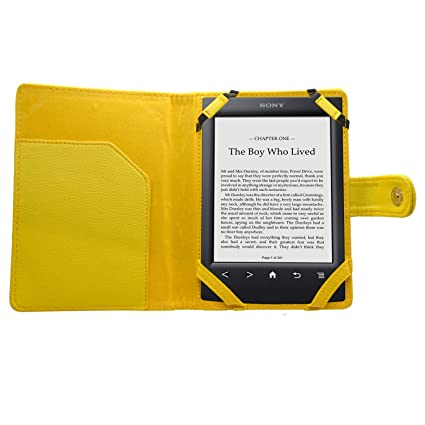 SAMRICK Executive - Funda con tapa para lector Sony Ebook PRS-350 ...