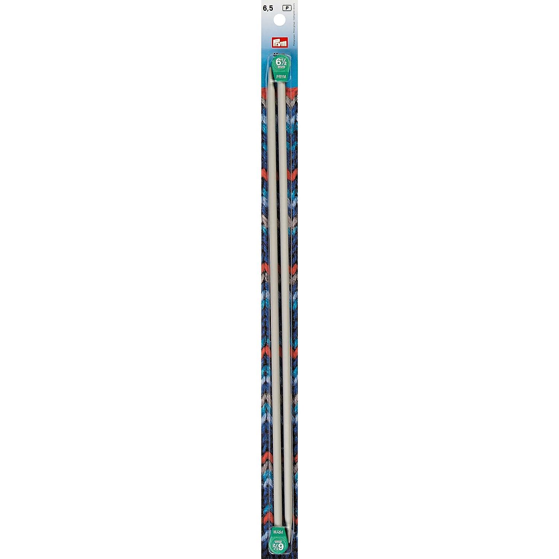 Aluminium Knitting Needle 6.5mm, 40cm Long Prym 6265552