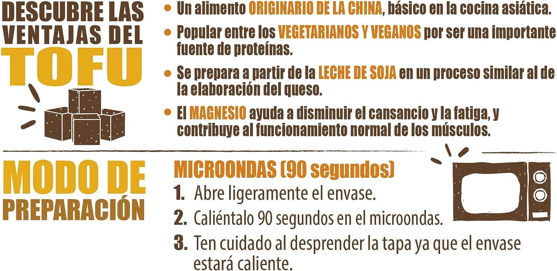 Brillante Benefit Legumbres, Tofu y Verduras, 250g: Amazon.es ...