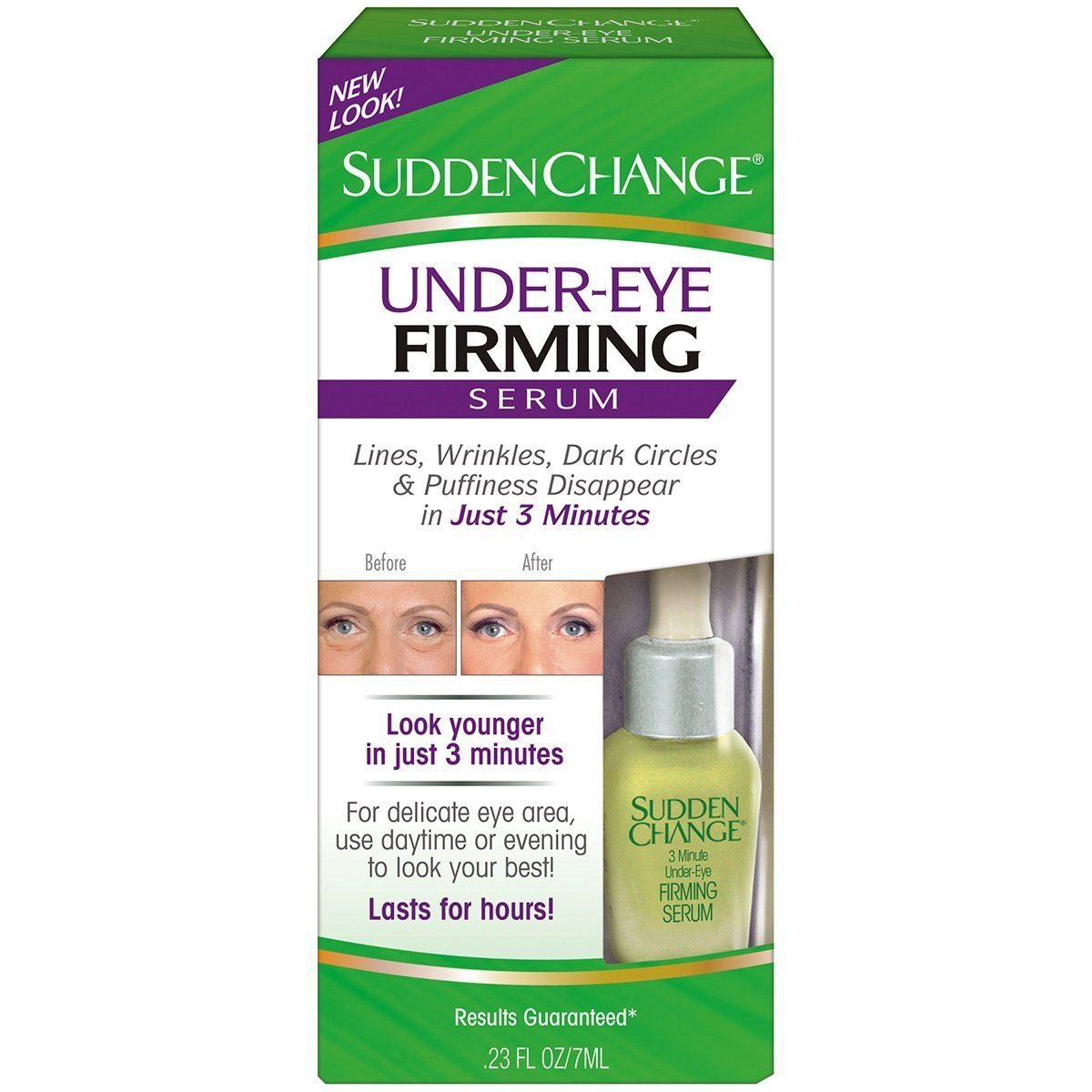 Sudden Change Under-Eye Firming Serum 0.23 oz (Pack of 4) B00IG0MVR6