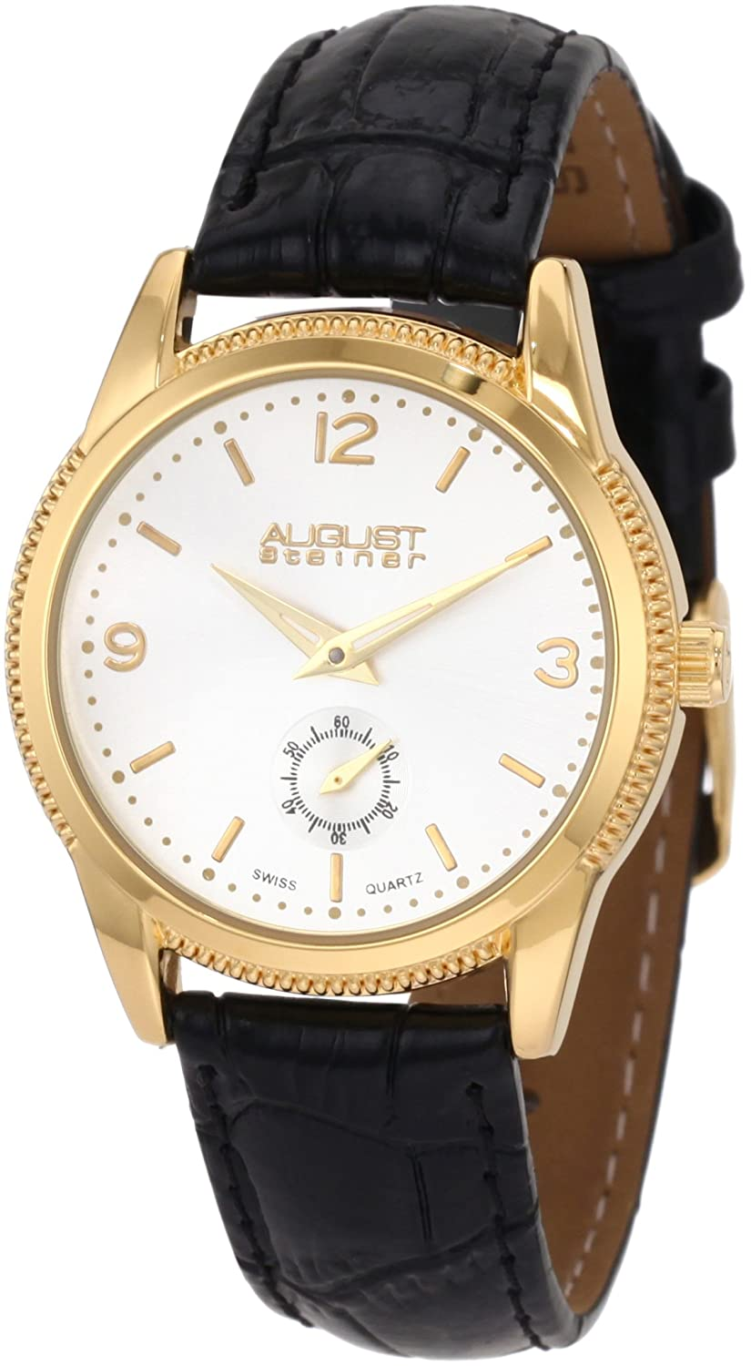 August Steener Femme ASA821YG Swiss Quartz Classique Dress Montre Bracelet B0054K46II