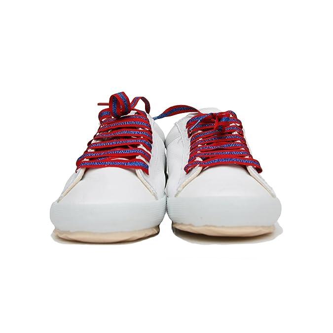 Zapatillas El Ganso para Mujer, Deportivas El Ganso. Sneaker Walking (38 EU, White/Leather): Amazon.es: Zapatos y complementos