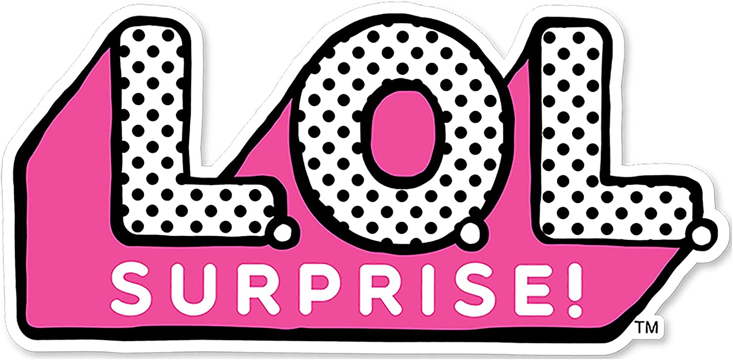 Lol Surprise Logo Cake Topper 5 W X 2 5 H Amazon Co Uk Kitchen Home