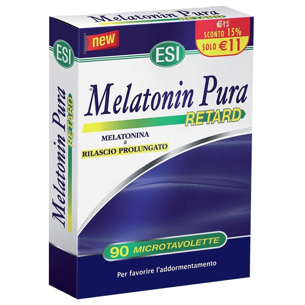 La melatonina Pura Retard Complemento Alimenticio 90 Microtavolette: Amazon.es: Salud y cuidado personal