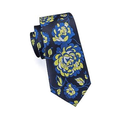 Corbatas De Hombre Venta Popular Corbatas Florales 100% Seda ...