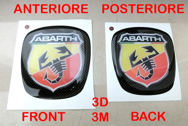 500 Abarth Kit Adhesivo Stickers Logo escudo badge Fiat ...