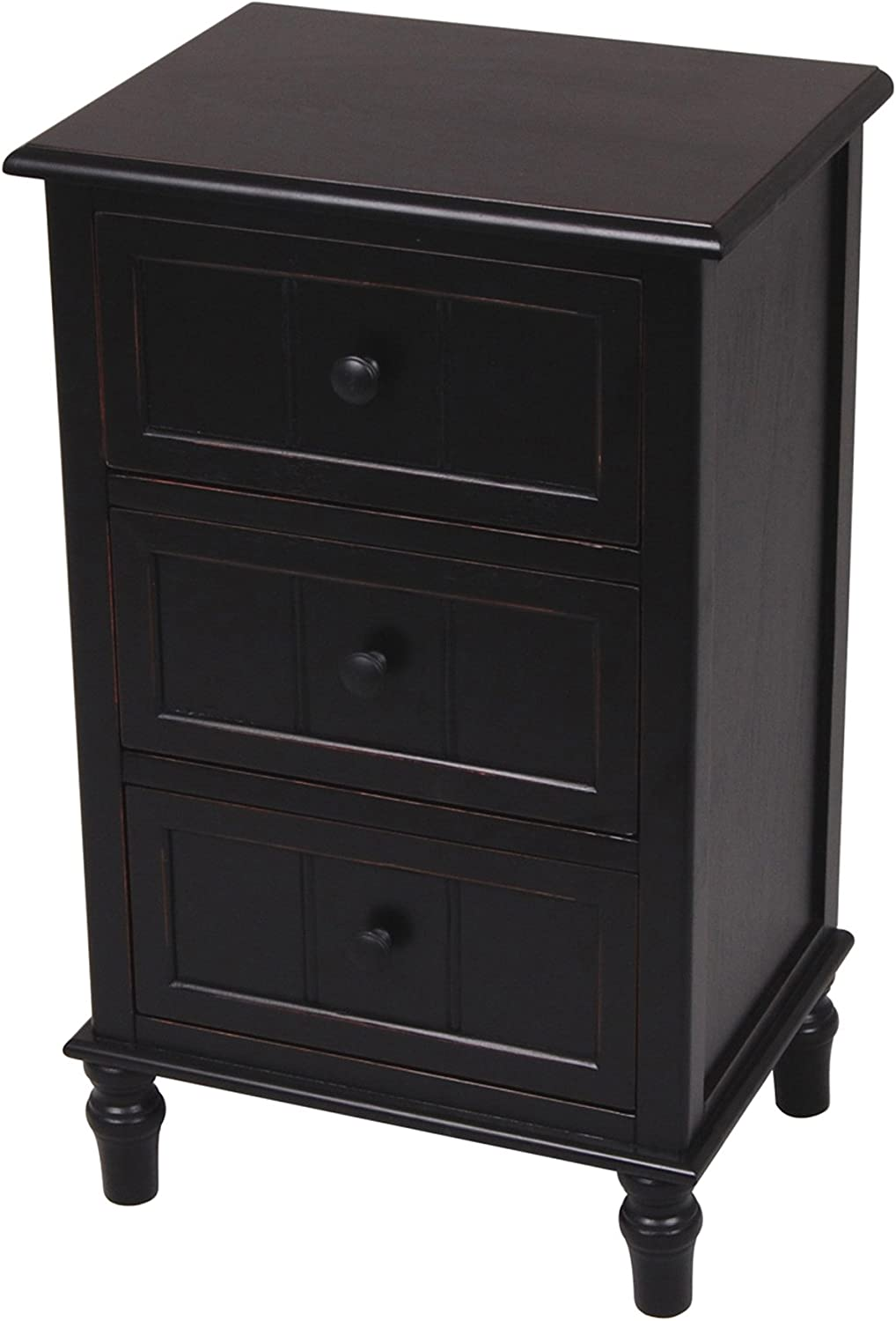 Décor Therapy Accent Table, Eased Edge Black