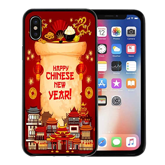 emvency phone case for apple iphone xs caseiphone x casechinese new year