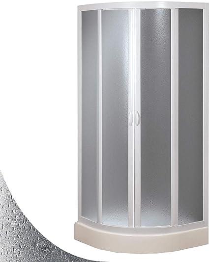 Mampara de Ducha Semicircular 70x90 CM de Acrílico Mod. Marte con ...