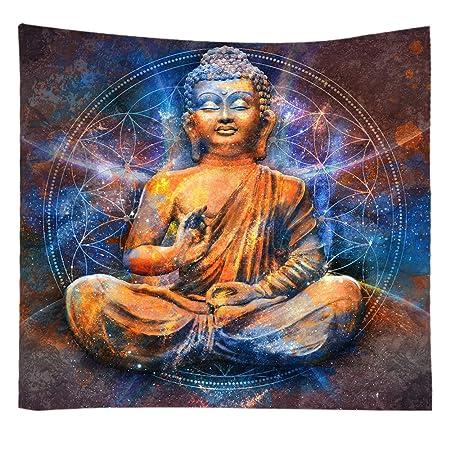 S-Chanson Indios Chakra Yoga Tapiz Pared Mandala Hippie ...