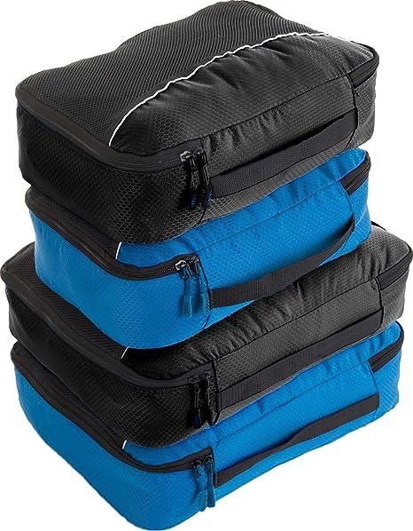 Amazon.com: 4 cubos de embalaje de viaje para equipaje ...