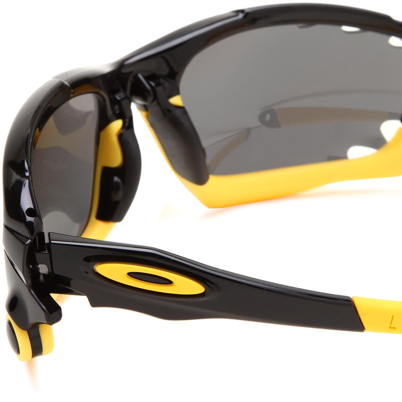 c3387270cef38 ... shop amazon oakley mens racing jacket oo9171 12 polarized oval  sunglassespolished black frame black iridium polarized