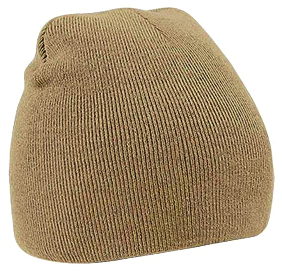 430c72bc0 Owill Unisex Wooly Winter Warm Skiing Skull Cap Neutral Knitted Beanie Hat